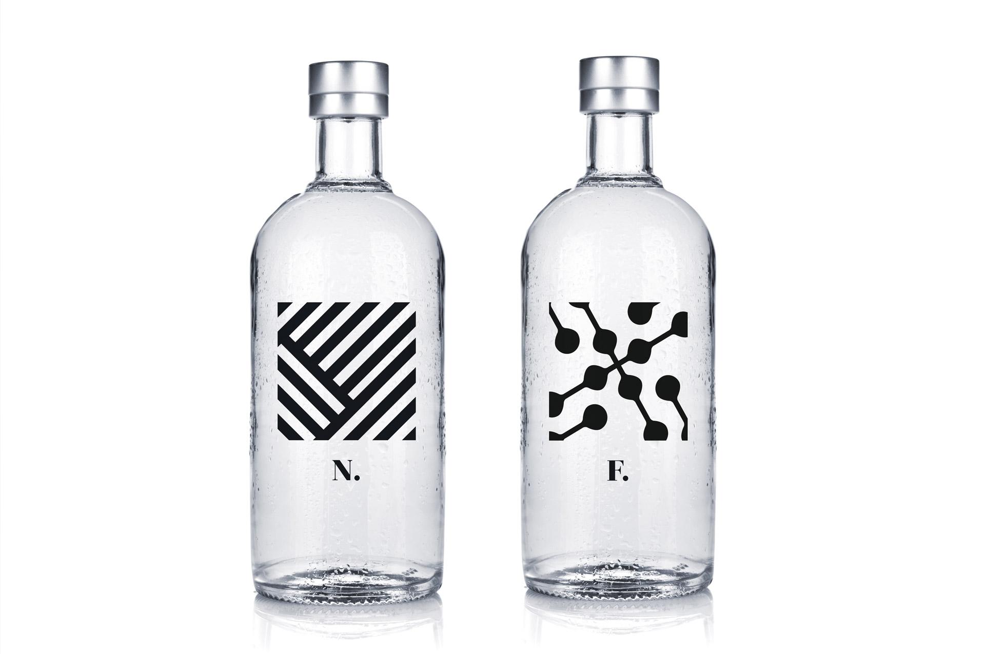 Asse Mavi Bottles Design